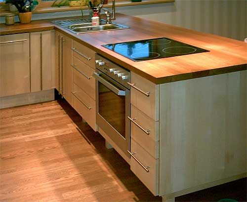Solid Ash Kitchen